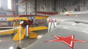 Visiting the KLBE Air Museum