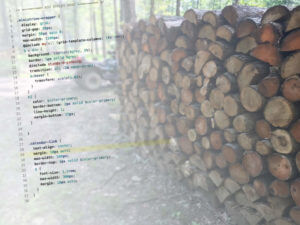 Currently Coding and Cutting Kindling