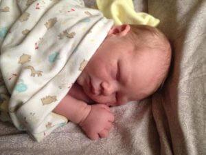 Baby Samuel Brubaker