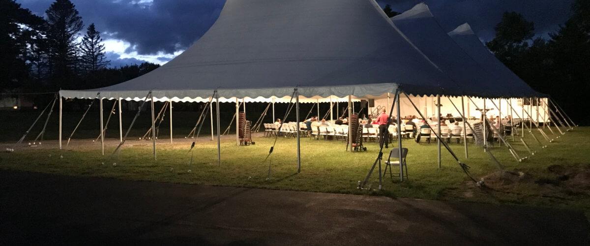 Hope For America Crusade tent